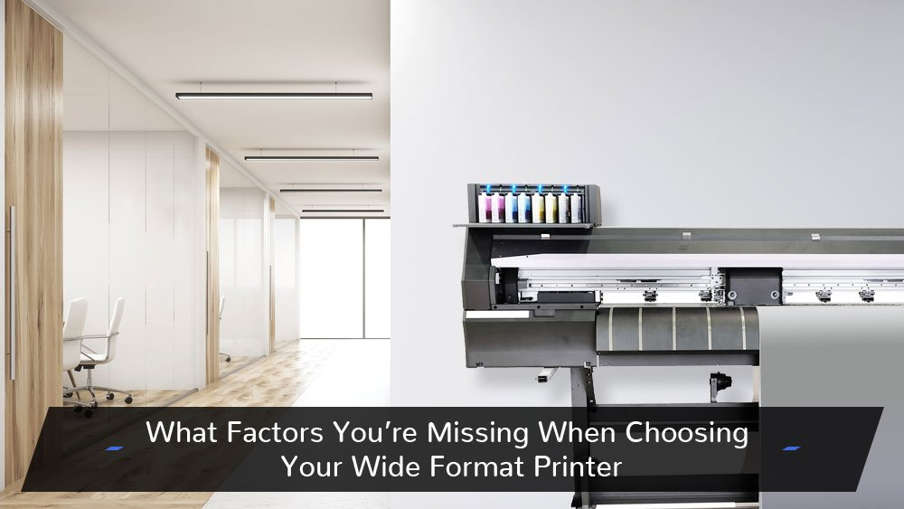 Make sure your cross all the T's and dot all the I's when choosing your wide format printer. Well, the printer will be the one crossing the T's and dotting the I's, but you get it. #Winnipeg #Manitoba #WideFormatPrinter #WideFormat #BigDeal #BigDecision  https://www.firstphasedata.com/what-factors-youre-missing-when-choosing-your-wide-format-printer/ …