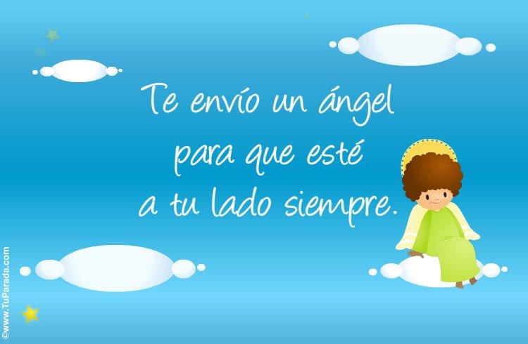 TuParada.com on Twitter: &quot;¡Feliz día de los ángeles custodios! Que el ángel  de la guarda siempre te acompañe. <a href=