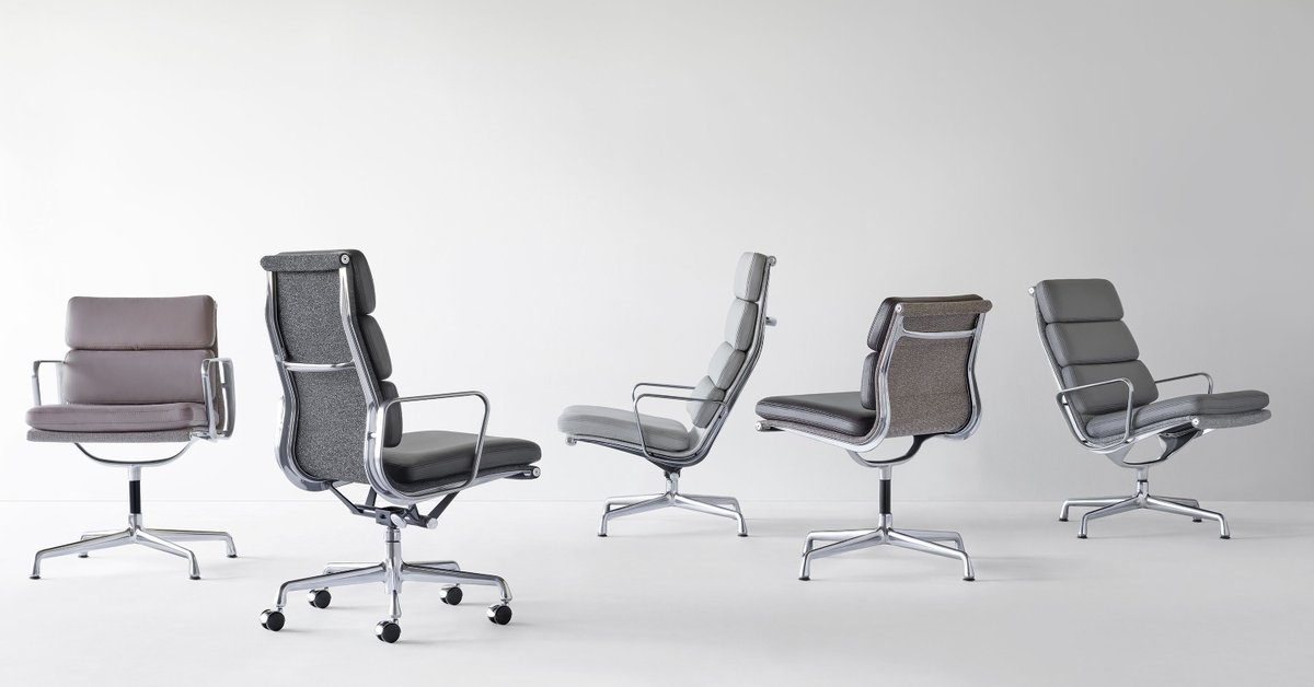 Phenomenal Herman Miller On Twitter Eames Soft Pad Group Includes Pdpeps Interior Chair Design Pdpepsorg