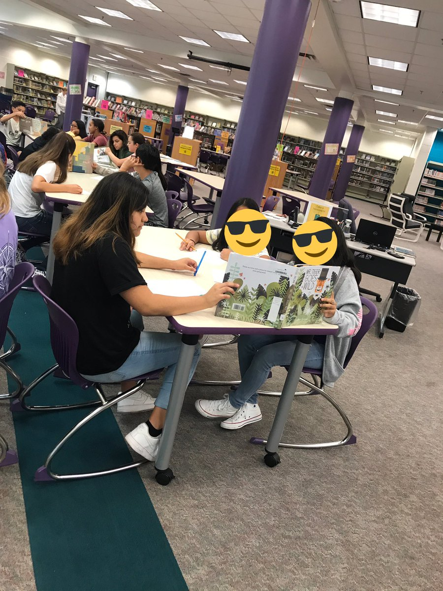Mr. Beatty's classes are visiting the library today to learn more about Characterization and STEAL using picture books. <a target='_blank' href='http://twitter.com/APSLibrarians'>@APSLibrarians</a> <a target='_blank' href='http://twitter.com/APS_ELA'>@APS_ELA</a> <a target='_blank' href='https://t.co/rjScotrWdm'>https://t.co/rjScotrWdm</a>