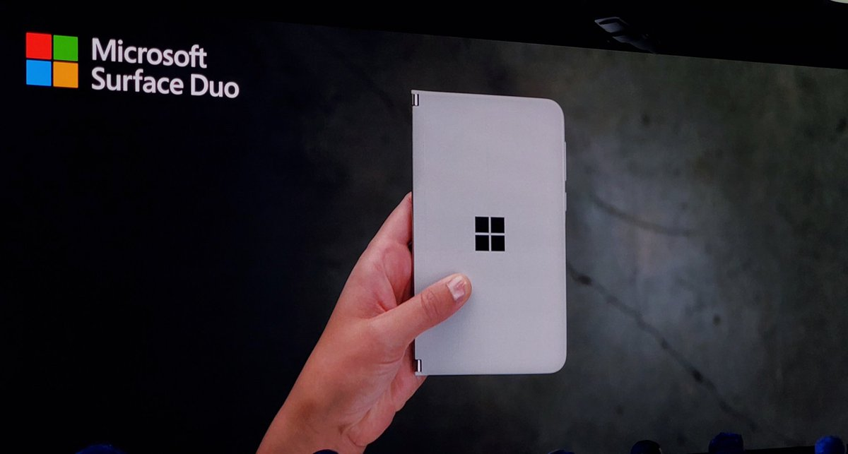Microsoft Surface Duo -Dual 5.6 Displays -Android with Google Play -360° Hinge -Pen support Coming Holiday 2020 #MicrosoftEvent