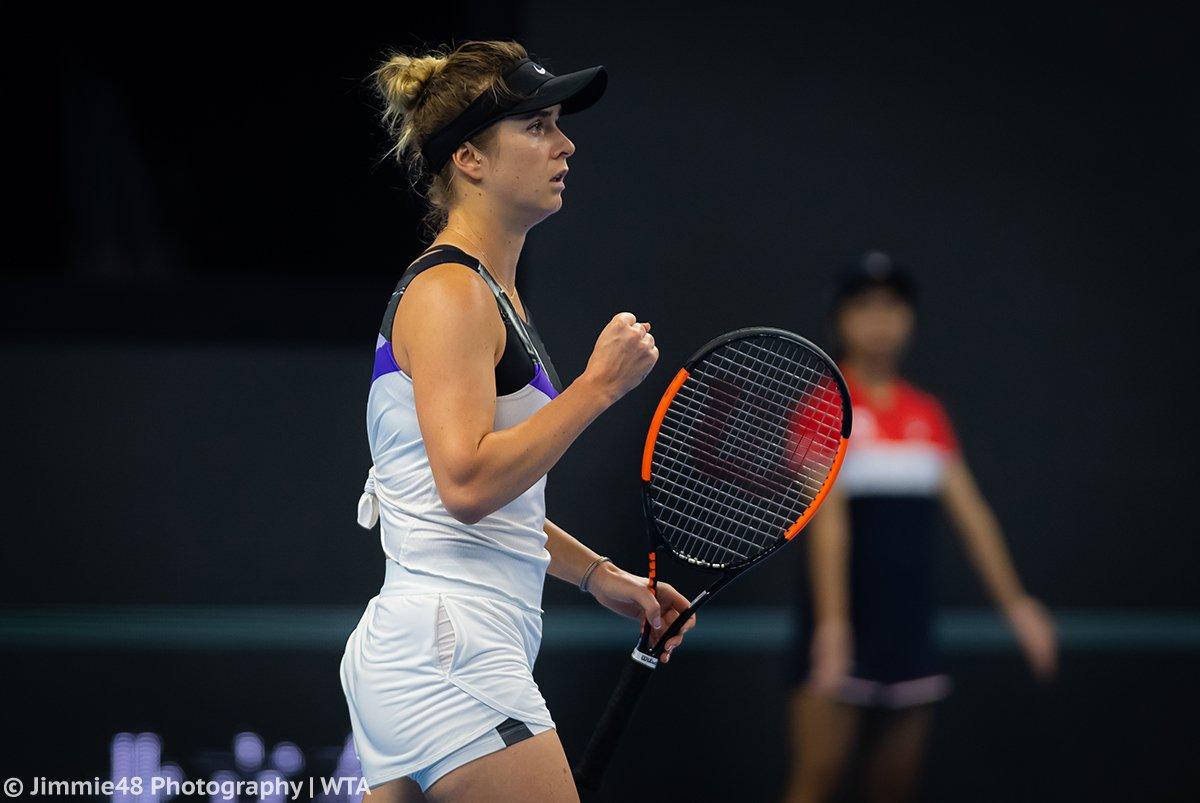 Пекин. Свитолина в трёх сетах обыгрывает Кенин и выходит в четвертьфинал