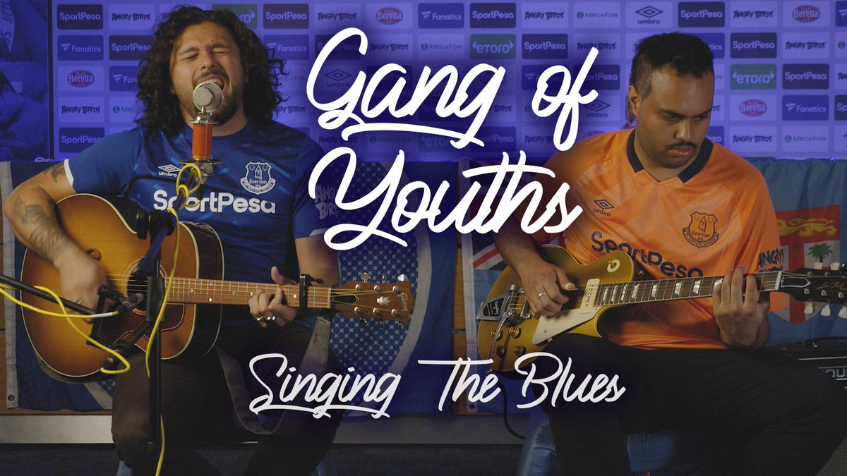 We were lucky enough to have @Everton invite us down to Finch Farm to explore the facilities and to play a couple of songs. Check out the whole thing here: youtu.be/nbOcOsi_msk
