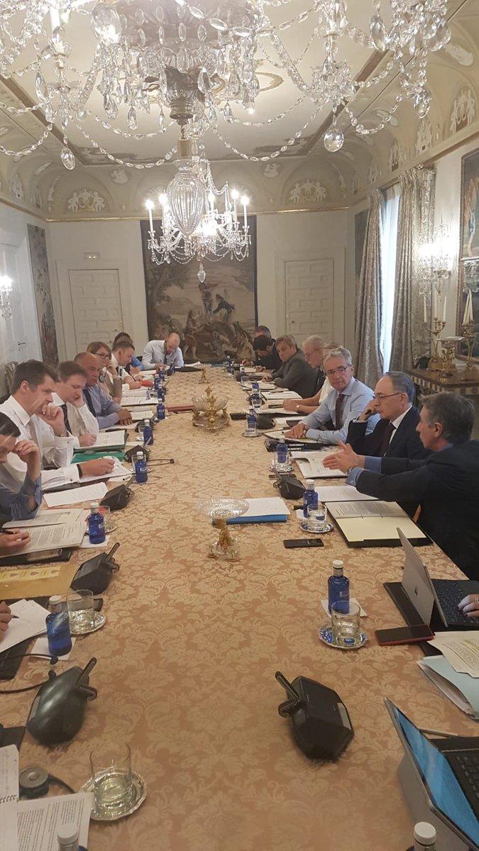 Como continuación de los contactos que el @MAECgob mantiene con la Administración británica, se ha celebrado hoy en Madrid una nueva reunión a nivel técnico sobre el #Brexit.