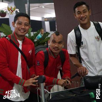 Evan Dimas dkk berangkat ke Uni Emirates Arab