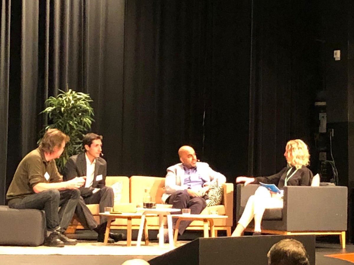 """""""Machines make decisions on our behalf all the time. But can we trust that it has received all the necessary #data and is the data it has learned reliable and high quality?"""" - @ericsson's Charlotte Lundén at #TelematicsValley in #Gothenburg!pic.twitter.com/znf4hMyPRe"""
