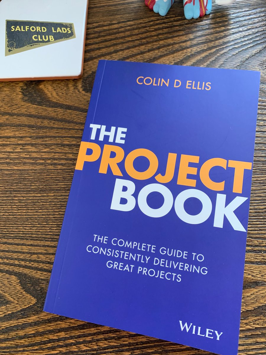The complete guide to consistently delivering great projects The Project Book