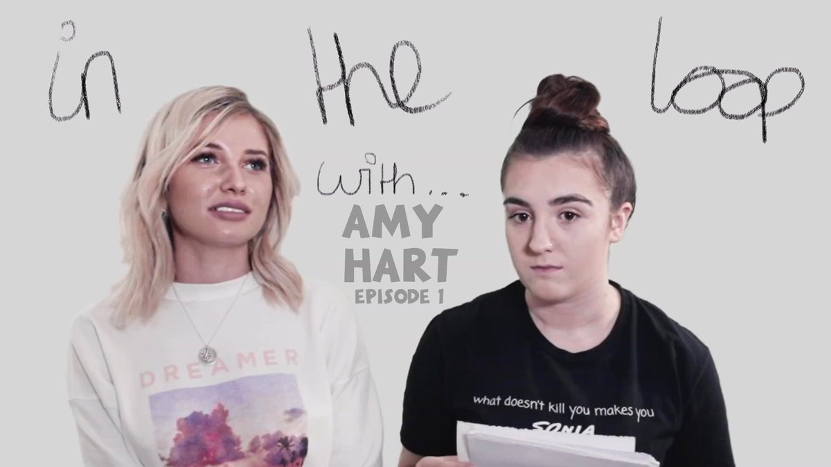 """Amy Davidson Xxx chi on twitter: """"'in the loop with' amy hart 