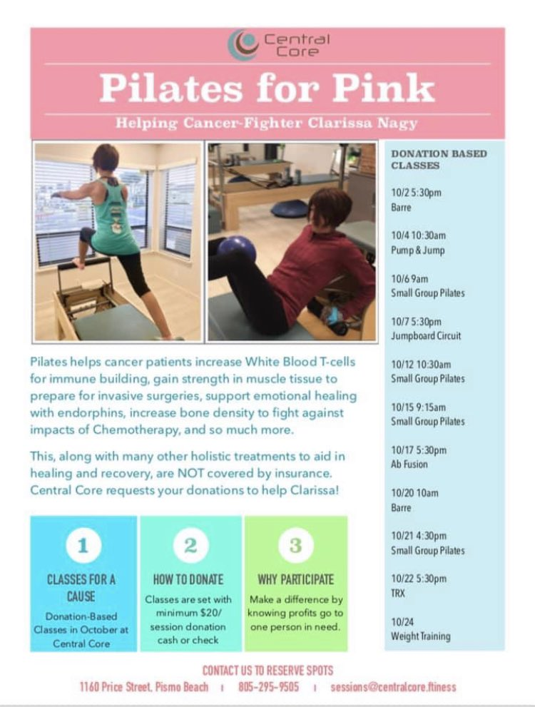 Pilates can naturally boost your white blood cell count. Pilates twice a week at Central Core during chemotherapy was one of my tools to stay healthy and strong during my treatment and naturally boost my white blood count. Join us this month! #strength  #pilatesforlife https://t.co/UZBmftutnM
