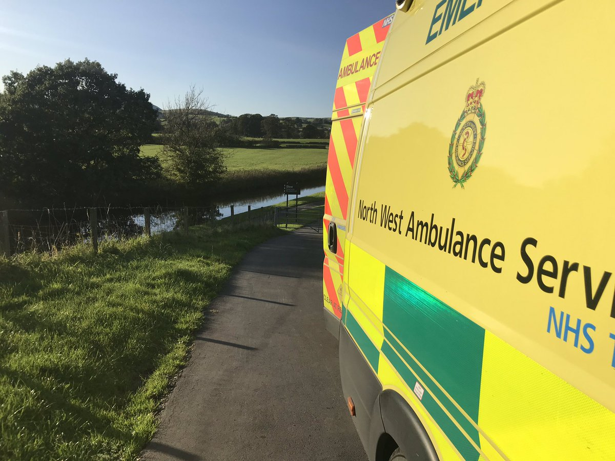 """Emotional job for @NWAmbulance transferring gentleman to a hospice for his final days. Gentlemen """"any chance on the way we can go via my favour place I used to walk and sit to see it for one last time?"""" """"Anything you want sir!"""""""