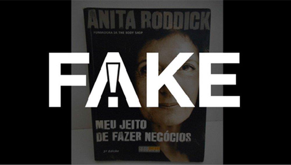 É #FAKE que fundadora da The Body Shop revelou em livro que cacique Raoni deu golpe milionário https://glo.bo/2nRwPoP #FatoOuFake