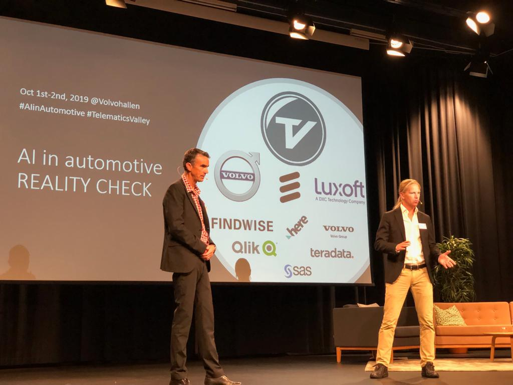 """""""By bringing connectivity into the corporation through @MobilityXlab opens new possibilities for innovation and revenue generating."""" - @VolvoGroup's Robert Valton at #TelematicsValley in #Gothenburg!pic.twitter.com/HezlXz5D9A"""