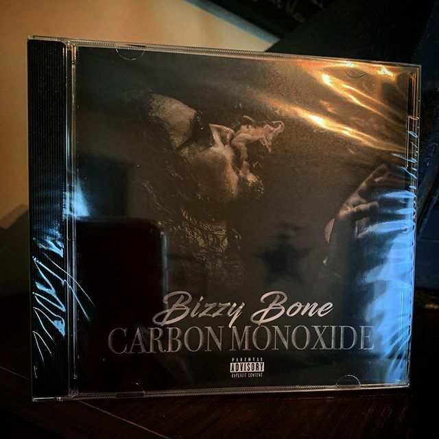 """Look what arrived today? That new Bizzy Bone """"Carbon Monoxide."""" This album is  It's like @mrmccane knew today was my birthday and timed the shipping perfectly.  #bizzybone #carbonmonoxide #banger #alphamalementality #ripsta #jammer #jamtv #… https://ift.tt/2ptBoWVpic.twitter.com/pMpsZ7PmVn"""