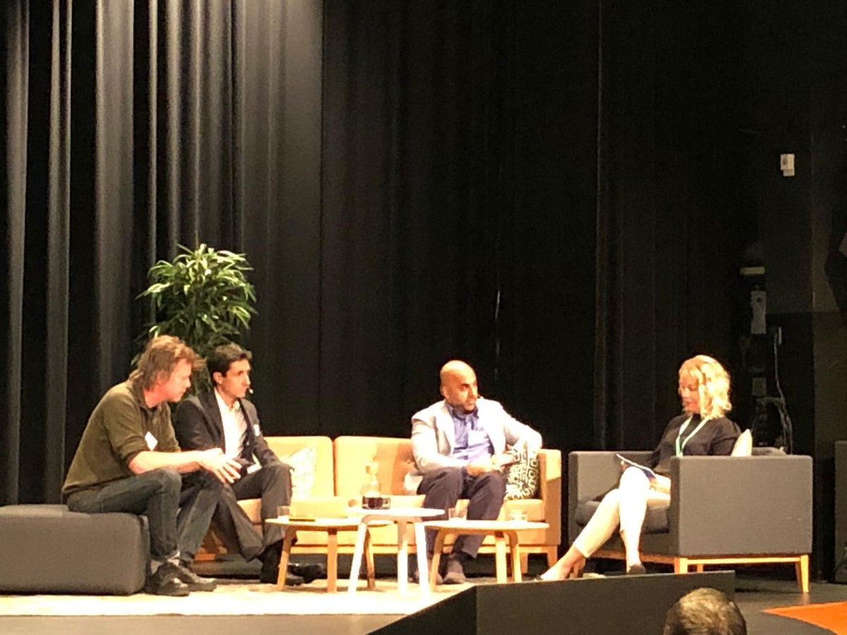 """""""We have to integrate the ethics aspects into the technical evolution of #AI applications, not keep it as a separate project. We also need to stay aware of the pitfalls."""" - @ericsson's Charlotte Lundén at #TelematicsValley in #Gothenburg! http://m.eric.sn/E1Rd50wzHjdpic.twitter.com/xTZ7JCFjty"""