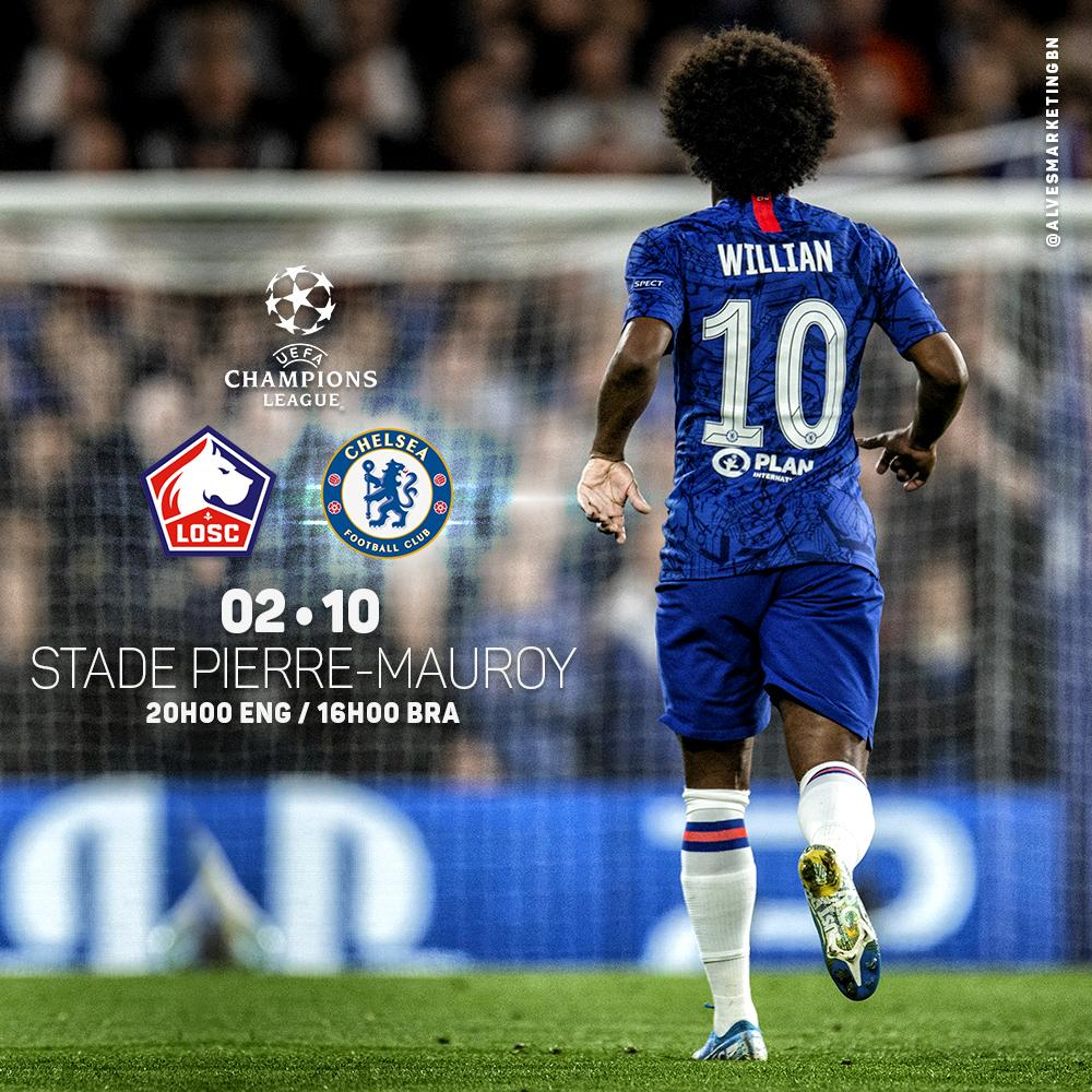 It's @ChampionsLeague matchday! Come on Chelsea!!! 💪🏿⚽️💙#CFC #uefachampionsleague #W10 #comeonchelsea