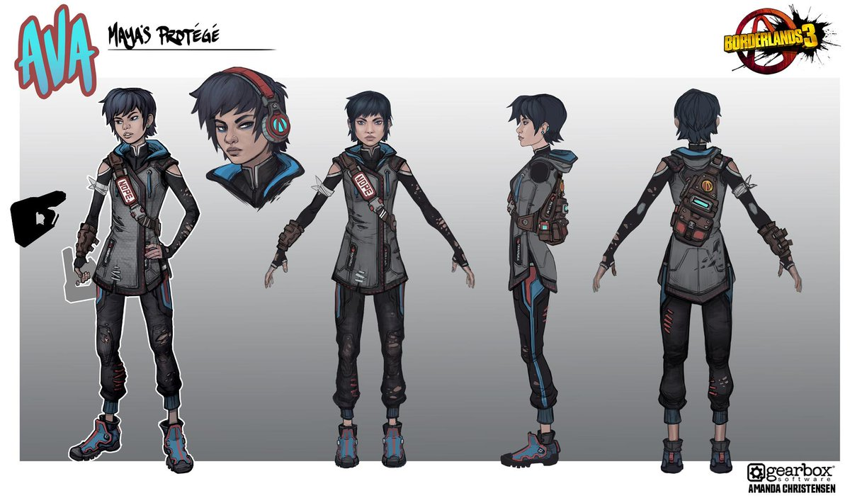 Borderlands 1 Concept Art