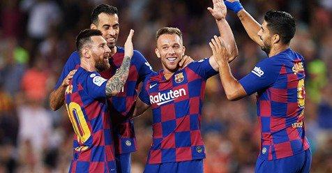 Barcelona remonta 2-1 al Inter Milan Fase de Grupos UEFA 2019