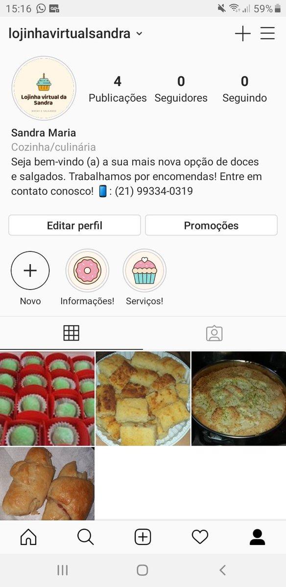 Amigos, fiz uma lojinha virtual para a minha mãe no Instagram! Quero que o mundo inteiro saiba o quanto ela é talentosa e dedicada. Quem puder ajudar seguindo e compartilhando, eu agradeço! ❤