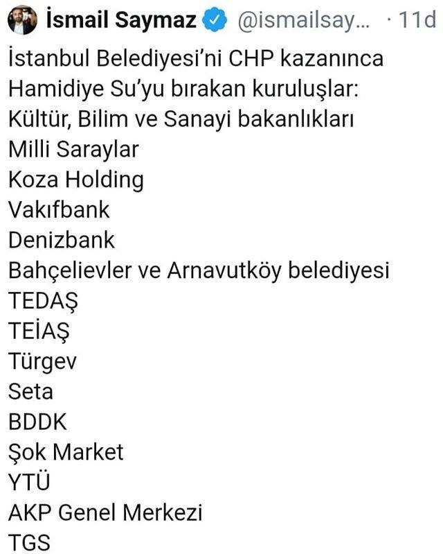 Şok Market ve THY Hamidiye Su'yu boykot mu ediyor açıklama geldi ile ilgili görsel sonucu