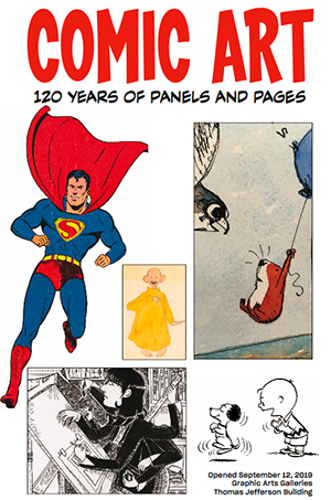 Heres an overview of our newest exhibition on comic strips & books through the past 12 decades. Read & watch, then come see it at the Library in person: america.cgtn.com/2019/09/27/com…