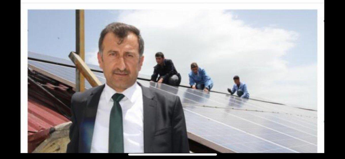 @dalierzincanli Ben okul müdürü Ekrem Erliğ hocam duyarlılığından dolayı teşekkür ediyorum Biz bu projeyi 2014 yılında faaliyete geçirdik beş yıl içersinde kendisini amorti etmiş olup şuan kendi tüketimimizi karşılamakta ve öğrencilerimize de yenilenebilir enerji alanında eğitimler verilmektedir