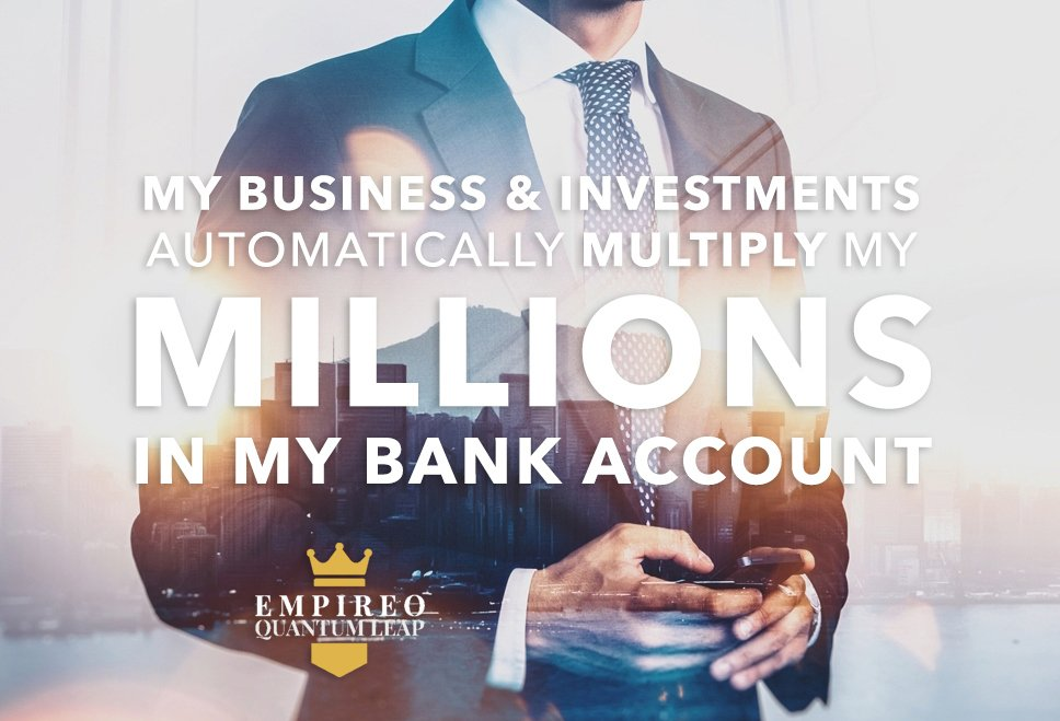 "My BUSINESS & INVESTMENTS automatically MULTIPLY my MILLIONS IN my BANK ACCOUNT 👔💰💳⏳  ""QUANTUM LEAP TO MILLIONAIRE""💰💎 ▶️ I want to know more about the program https://t.co/WIqt3SfyGm https://t.co/0JuR1fHqAF"