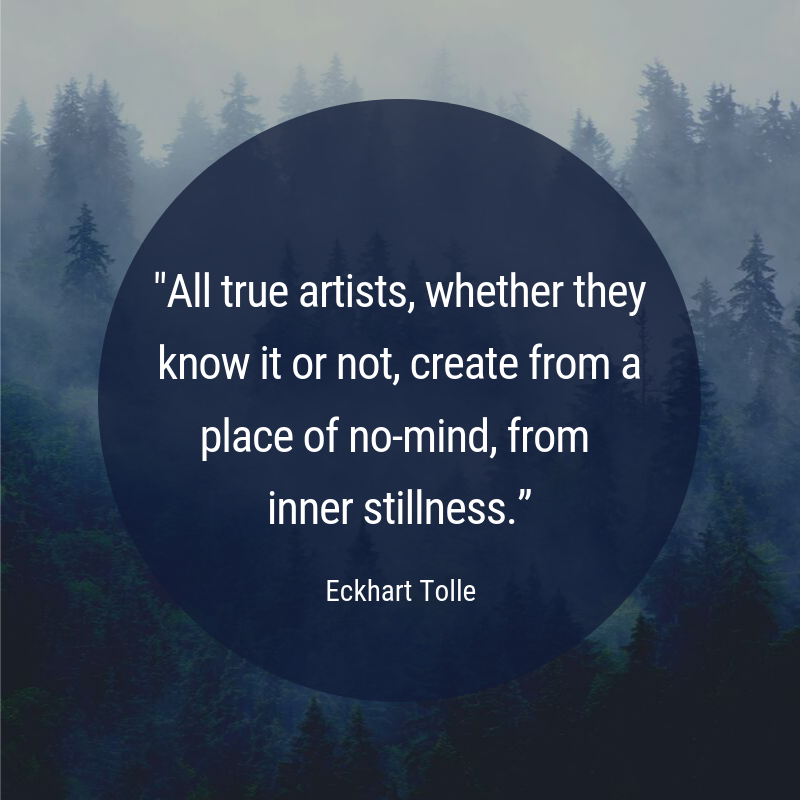 Eckhart Tolle On Twitter All True Artists Whether They