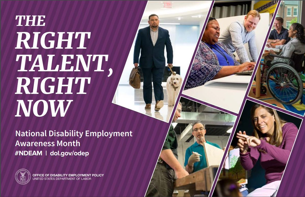 National Disability Employment Awareness Month opens at Wright-Patt Med Center auditorium on Friday, Oct. 4, 12:30 to 1:30 p.m. with Opportunities for Ohioans with Disabilities discussing disability etiquette, proper language in workplace. Free, open to anyone with base access.