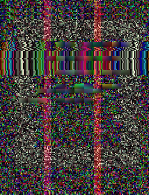👓🎫 glitch octobit pixelart nodejs generative codeart scatter cosine bot Origin img by @ioruko