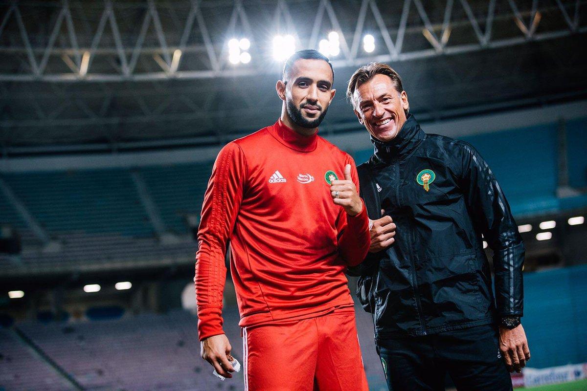 Félicitations à @MedhiBenatia pour sa très brillante carrière internationale. Il aura été un capitaine fantastique pendant tout le temps où je serai resté à la tête de l'équipe nationale du Maroc. Un énorme merci à lui. Il restera dans la légende du football marocain.