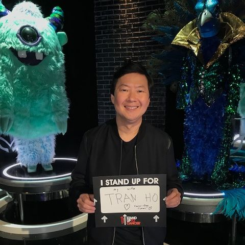 This #BreastCancerAwarenessMonth, @KenJeong and #StandUpToCancer strive for a world with more breast cancer survivors, like his wife Tran. Catch Ken on The @MaskedSingerFOX tonight on @FOXTV!