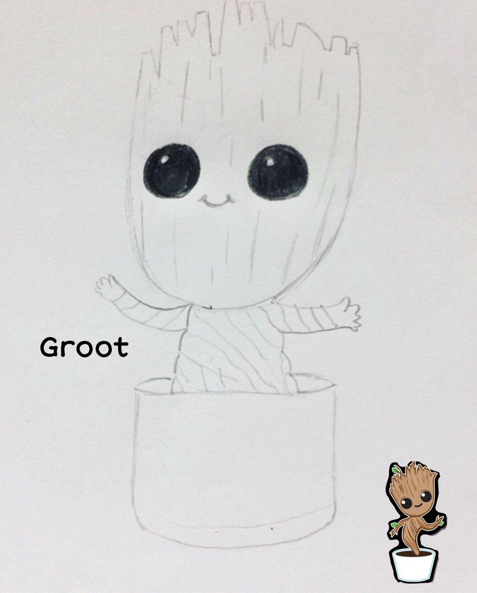 Aurore Dessy On Twitter Groot Dessin Crayon Drawing Draw Art Gardiendelagalaxie Bebe Bebegroot Groot Avengers Disney Marvel Personnagedisney Personnagemarvel Https T Co Cjjel1jynq
