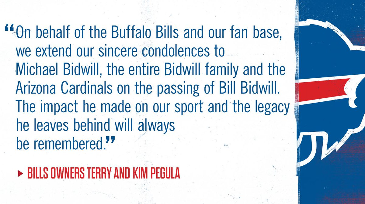 Buffalo Bills On Twitter A Statement From Terry And Kim