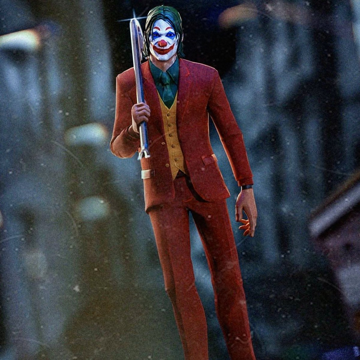 Fortnitefanaticfan On Twitter Fortnite Needs To Collaborate With Joker Movie To Make This Possible Now That Would Be A Great Event Don T You Agree Fortnite Epicgames Fortnitexjoker Joker Jokermovie Collaboration Makethispossible The laugh riot back bling is bundled with this outfit. fortnite needs to collaborate