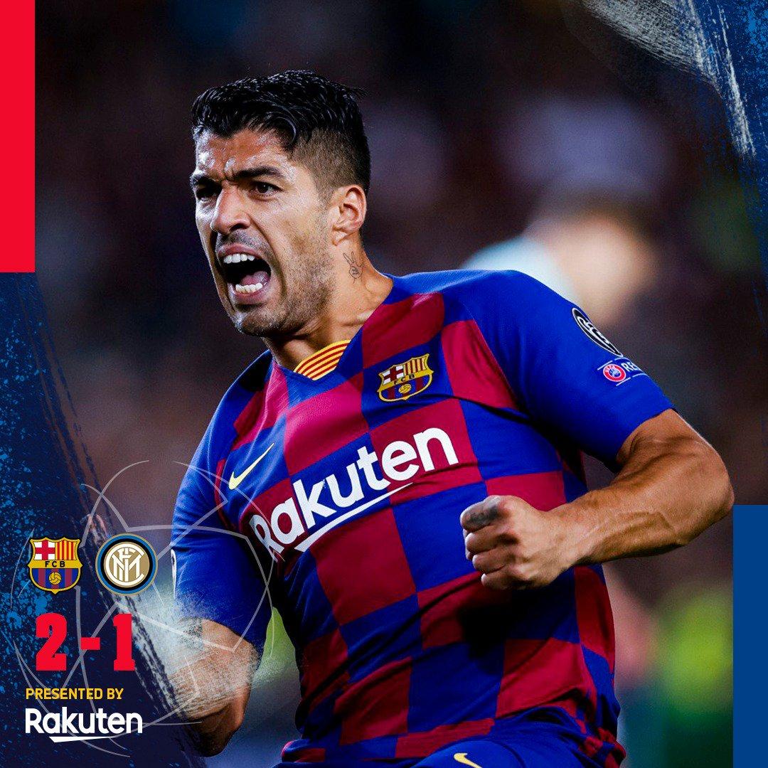 Hasil akhir Barcelona vs Inter Milan
