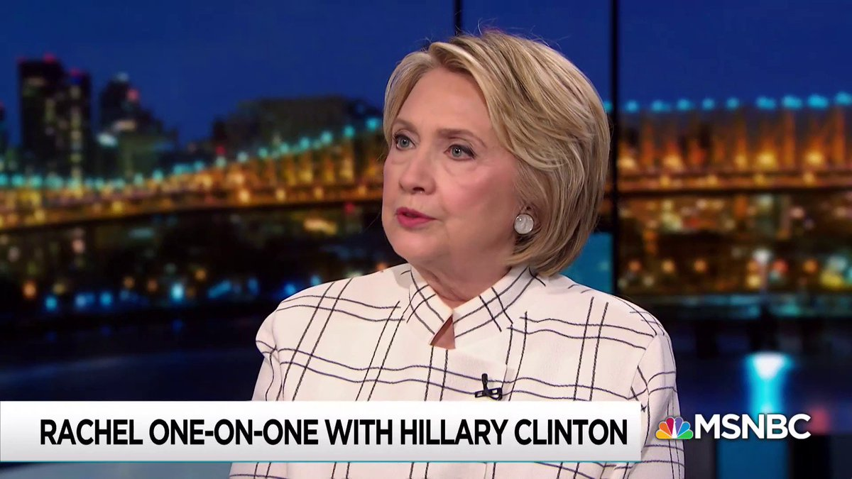 Hillary Clinton: Impeachment inquiry 'should follow every thread to see where it leads.'