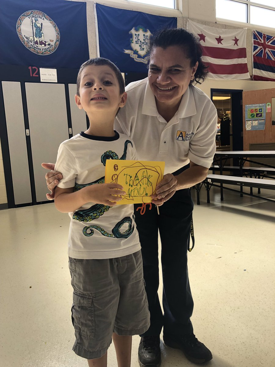 Our custodial staff works hard each day to take care of our building. Today many students took the opportunity to thank them in person or delivered notes written at home and in class.   <a target='_blank' href='http://search.twitter.com/search?q=CustodialWorkerDay'><a target='_blank' href='https://twitter.com/hashtag/CustodialWorkerDay?src=hash'>#CustodialWorkerDay</a></a> <a target='_blank' href='https://t.co/BpSKypOAr6'>https://t.co/BpSKypOAr6</a>