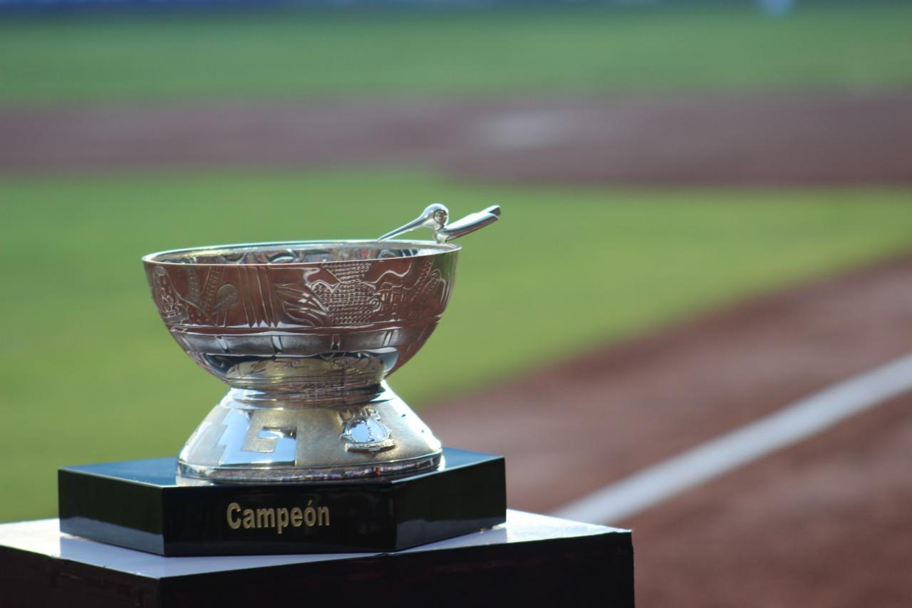 Copa Zaachila trofeo de campeón Liga Mexicana de Beisbol