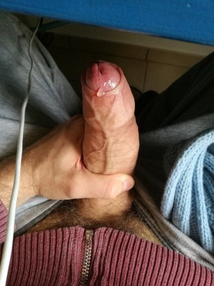 Clouding N Stroking My Leaking Uncut Party Cock