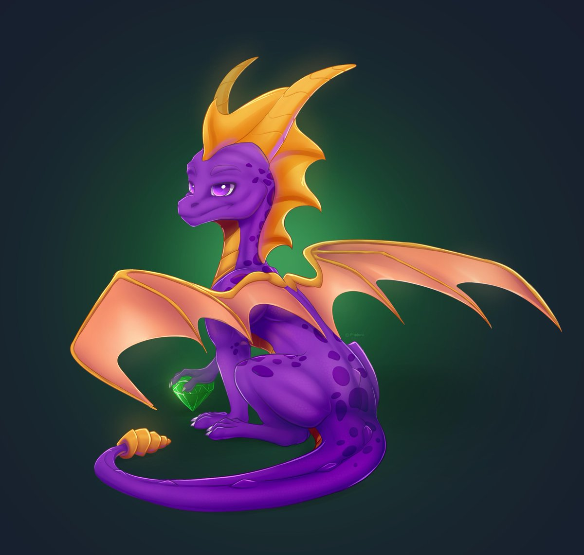 Attention dragon lovers   I'm opening a free raffle! All you need is: 1. Follow me  2. Like this tweet  3. Retweet this tweet  You have a chance to get a free artwork of your dragon in style on pics below I will pick a winner with randomizer #freeraffle #freeart #spyro<br>http://pic.twitter.com/Qtlq9xkWUR