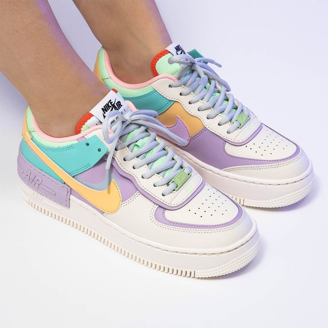 nike air force 1 femme pastel