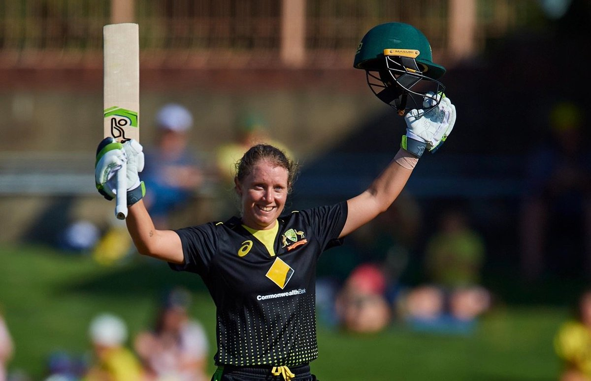 Unbelievable Healso, what an incredible innings!! 🇦🇺💪🏼 @ahealy77