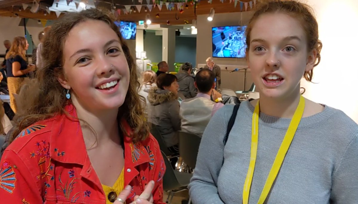 Were hoping to see some interesting discussion and debate. Politics students Hannah and Josie are among our live audience here @LivUni #r4today