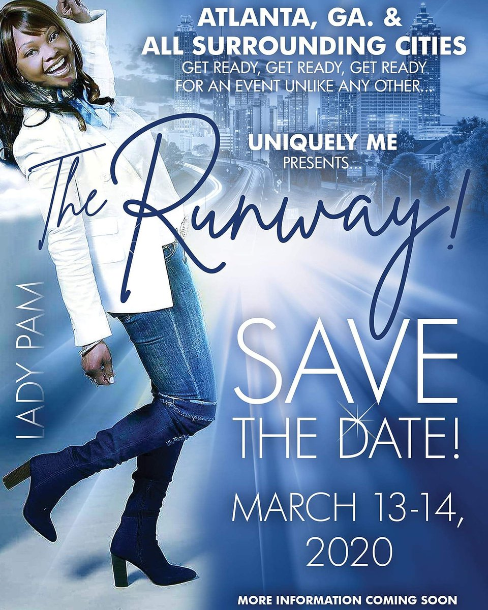 Get Ready, Get Ready, Get Ready This Is An Event U Don't Want 2 Miss..Save The Date, More Info Coming Soon. #event #fun #excitement #runway #fashion #entertainment #socialpic.twitter.com/gdIepT3Hki