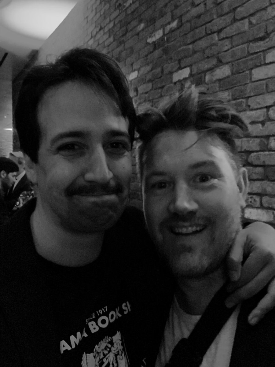 Composers' Corner: @Eddieperfect used to sit in with #FreestyleLoveSupreme & play piano when we played the Edinburgh & Melbourne Comedy Festivals. Now we both got Bway shows...