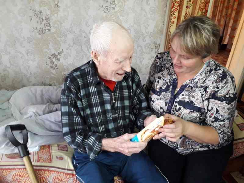 поздравление пожилых граждан на дому обязательных