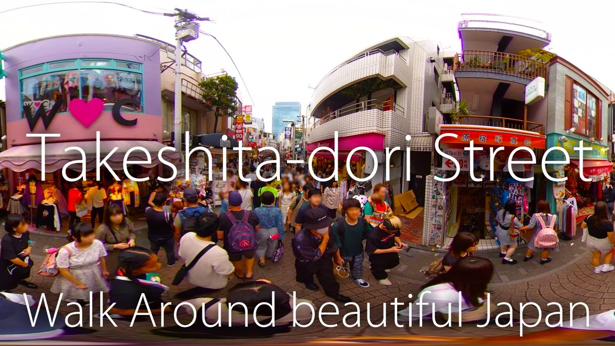 Please watch my new movie and Subscribe to my channel!  [360movie] Takeshita-dori Street | Walk Around Beautiful Japan! https://t.co/Q4zxbI8Fil  #360movie #Takeshita #street #Harajuku #Tokyo #Japan #竹下通り #原宿 #散歩 #東京  Walk Around Beautiful Japan! https://t.co/4dQ2GutiLZ