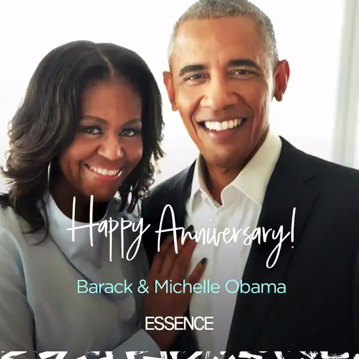 From their very first date, it was evident that @MichelleObama and @BarackObama were in for something magical. Happy 27th anniversary to the Obamas. ❤️