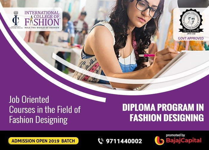 Info Icf Edu In On Twitter Job Oriented Courses In The Field Of Fashion Designing Know More About Diploma Program In Fashion Design And Start Your Glamorous Career In Fashion Click Here Https T Co Gpnh2eyana Jnte Diplomainfashiondesign