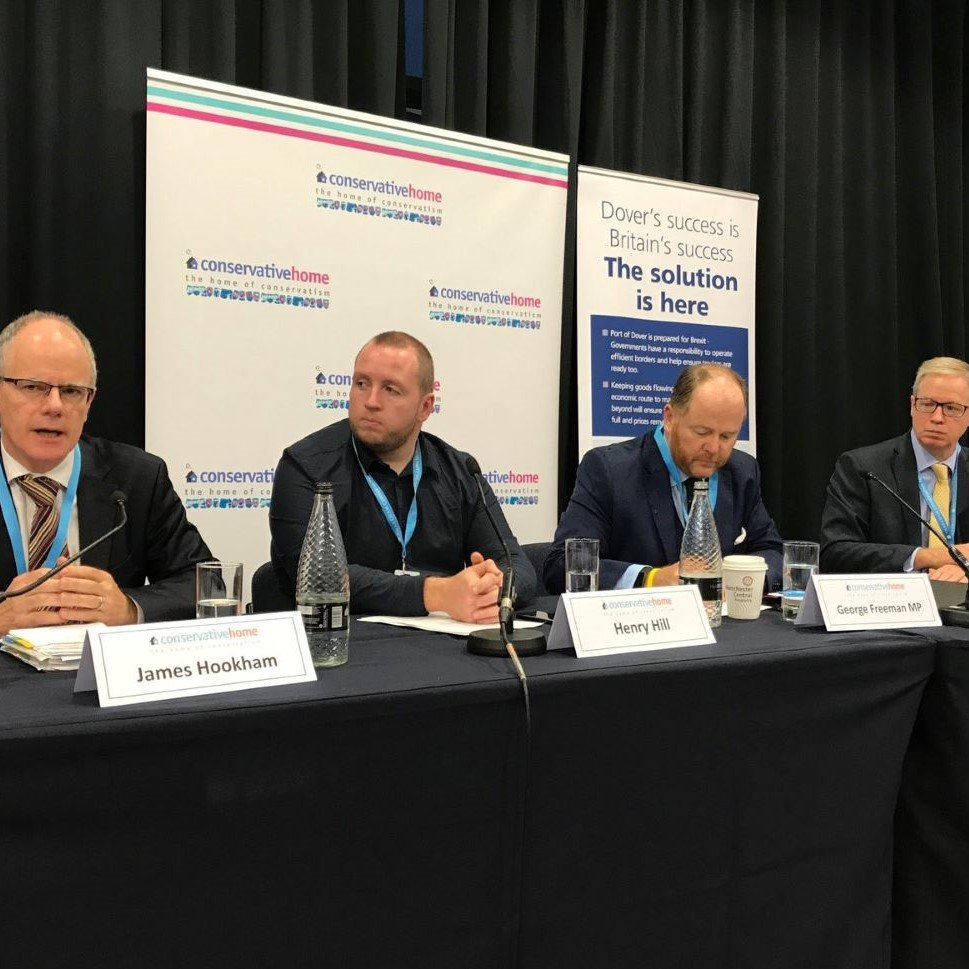 After a successful panel discussion with transport leaders at the #ConservativePartyConference this week, we look forward to being the headline sponsor at tomorrows @newsfromfta Brexit Readiness Conference to continue #Brexit preparedness talks doverport.co.uk/about/news/tra…